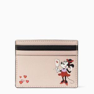 Kate Spade Disney Minnie Mouse Slim Cardholder